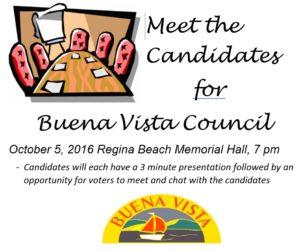 Meet the Candidates @ Memorial Hall | Regina Beach | Saskatchewan | Canada